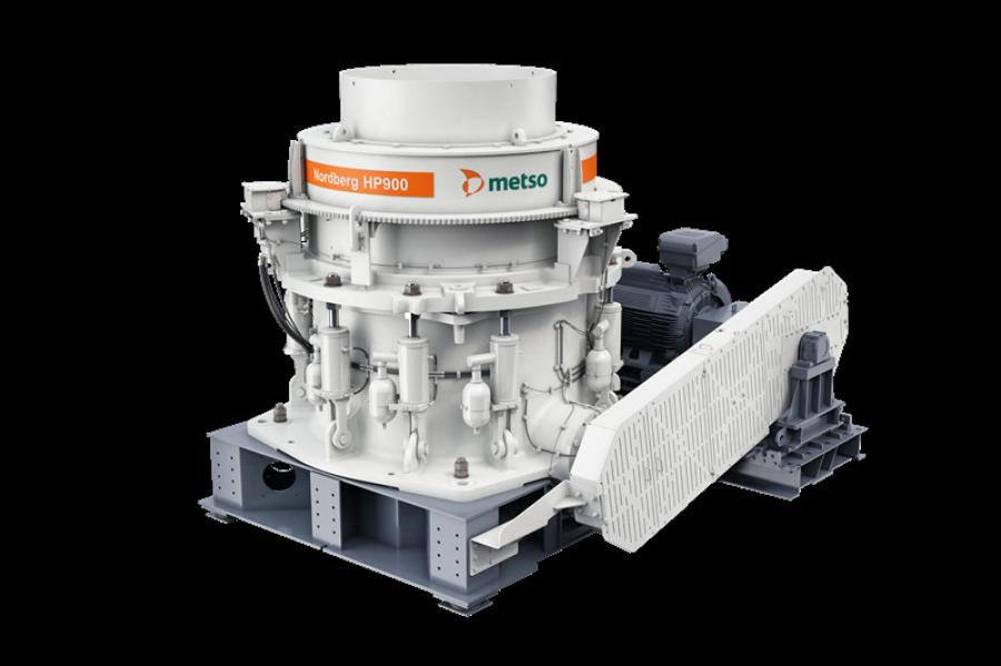The HP900 is an upgrade to the HP800 cone crusher that has more than 175 installations. Approximately 80 percent of the parts are compatible between the two technologies, according to the manufactur