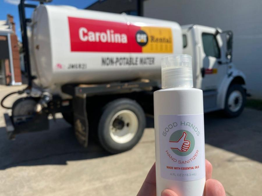 The team at the Carolina Cat Rental Store in Charlotte, N.C., donated a water truck that allowed The Unknown Brewery to increase production and efficiency.