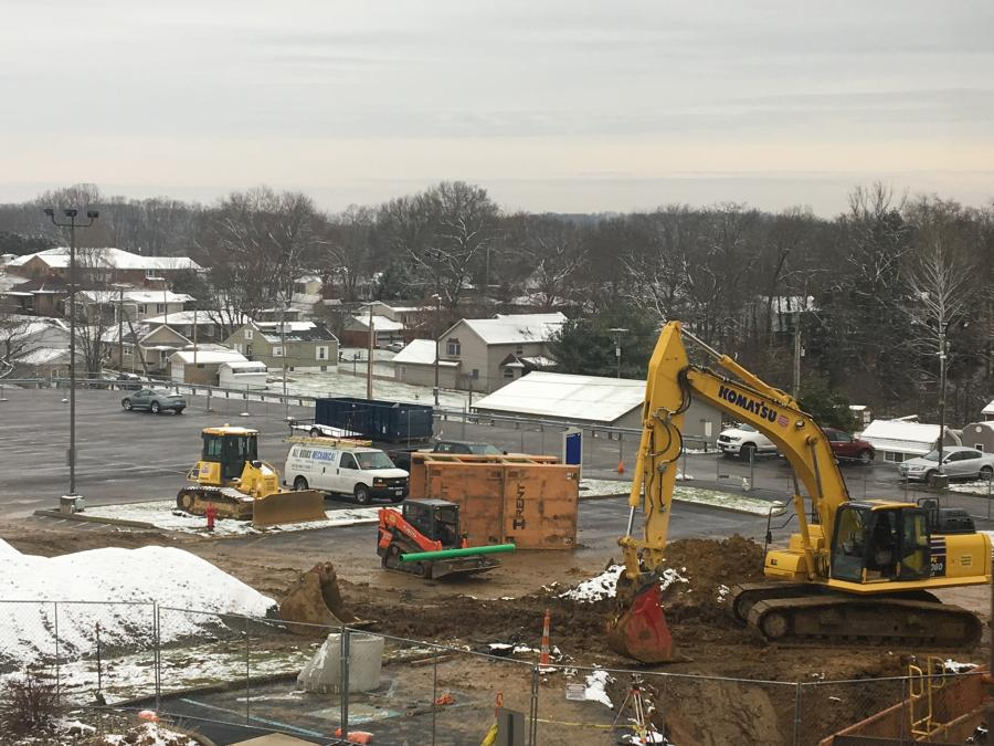 Construction of the Guernsey Health Systems and Southeastern Ohio Regional Medical Center's 12,000 sq.-ft. cancer center began last year with an anticipated delivery date of late fall 2020. (Southeastern Ohio Regional Medical Center, Marjorie Clayman photo)