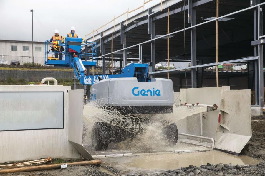 Following the CDC's guidance, Genie is making recommendations to its customers on the most effective way for aerial equipment operators to clean and disinfect machines before, during and after each use.