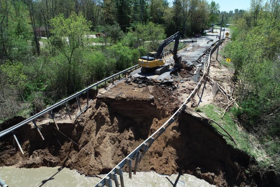 The floods damaged dozens of bridges, caused the failure of two privately owned dams and closed roads, as well as impacted infrastructure throughout Midland County.