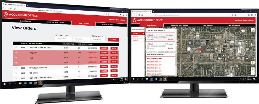 Cemen Tech has integrated several new features to help streamline ordering, reporting and invoicing processes. Most notably, ACCU-POUR now has the ability to process credit card payments, making ordering easier than ever before.