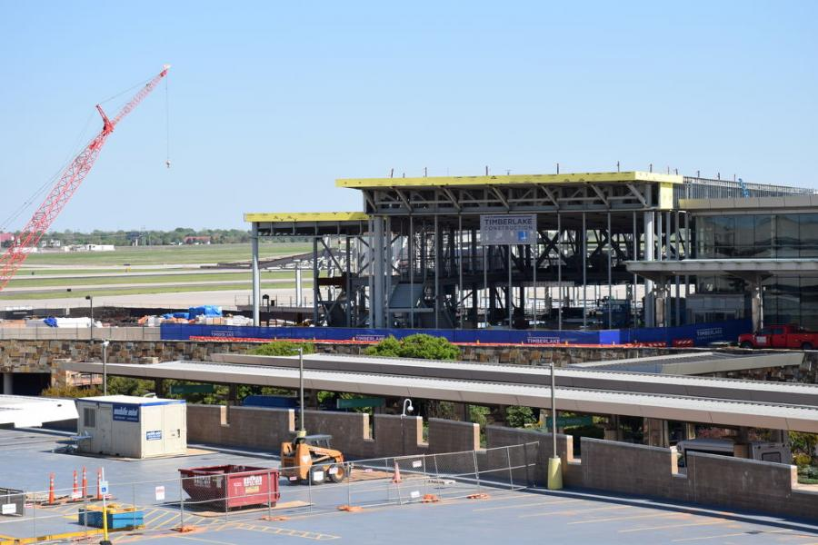 Oklahoma City-based Timberlake Construction is serving as the general contractor on the $89 million project.