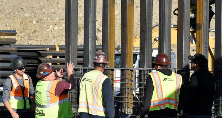 Republican U.S. Sen. Kevin Cramer of N.D. confirmed the $1.3 billion contract for building the 42-mi. section of wall.