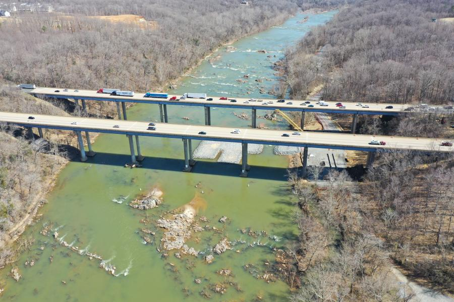 The contract includes the design and construction of three general purpose lanes for I-95 North and a bridge across the Rappahannock River. Wagman also is working on the $101.6 million I-95 southbound Rappahannock River Crossing project, just alongside the current northbound crossing.
