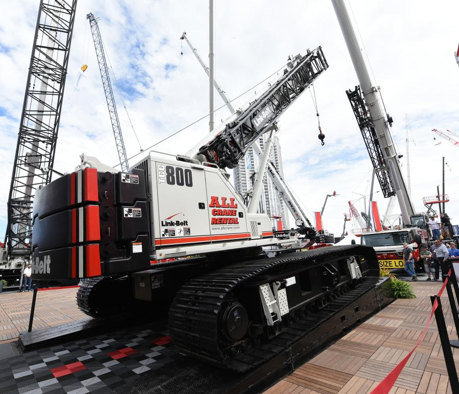 Delivery of cranes in the 16-unit package has already begun, with Link-Belt production expected to keep up with the order throughout the balance of 2020 and completing in 2021.
