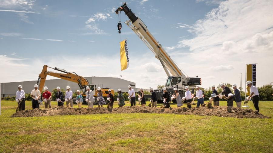 The move caps a journey that began in July 2018, when members of the Liebherr family, company executives and Newport News city officials broke ground for the project.