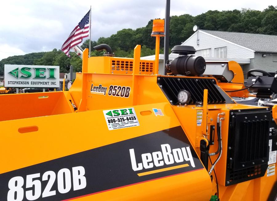"Stephenson Equipment and LeeBoy are teaming up to make a ""Stars & Stripes"" themed LeeBoy 8520B paver and make a significant donation to The Gary Sinise Foundation and its efforts to support the nation's healthcare professionals, service members, veterans, first responders and their families who have been impacted by the novel coronavirus."
