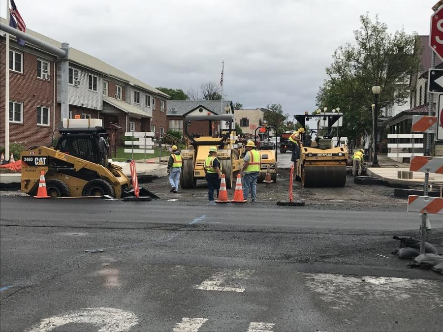 The Northumberland Project, a road reconstruction job, was launched in June 2016 to address several issues, including lengthening the turning lanes to increase storage capacity and reduce congestion and pollution in the borough.
