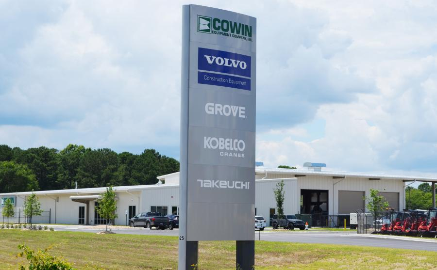 The brand new 22,500 sq. ft. Montgomery, Ala., Cowin Equipment branch is located at 4325 Northern Blvd. – Montgomery.