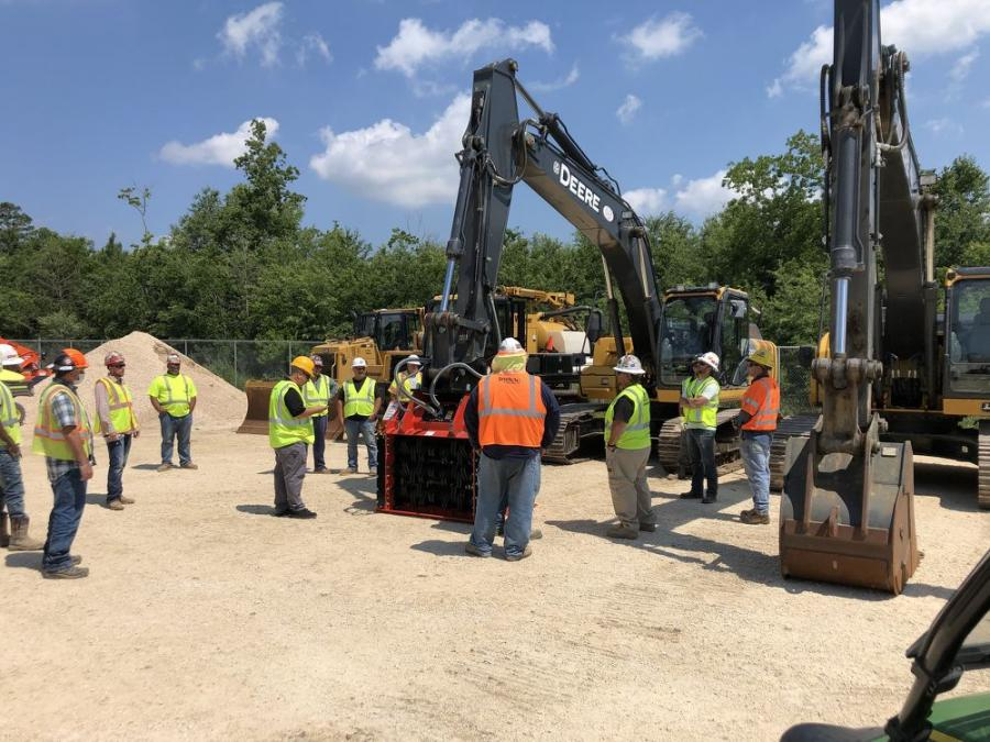 IUOE will be using the ALLU Transformer unit, donated by ALLU Group Inc., for all future pipeline training sessions.