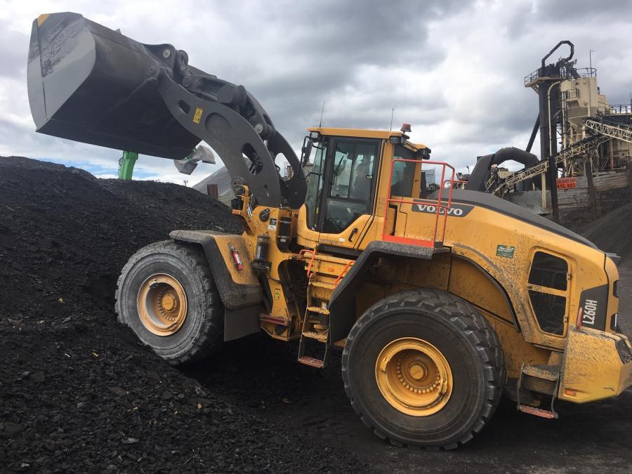 RCA Asphalt took delivery last month of a new Volvo L260H wheel loader from Hoffman Equipment, the construction equipment dealer celebrating 100 years of being in business.