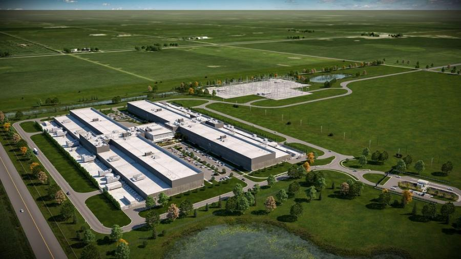 The $800 million Facebook DeKalb Data Center will be among the most advanced, energy- and water-efficient data center facilities in the world.