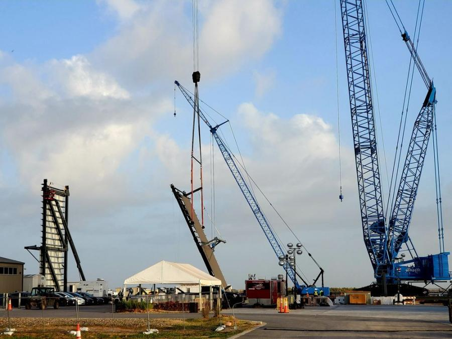 SpaceX could be ready to begin producing the first Super Heavy booster prototypes as early as September or October.