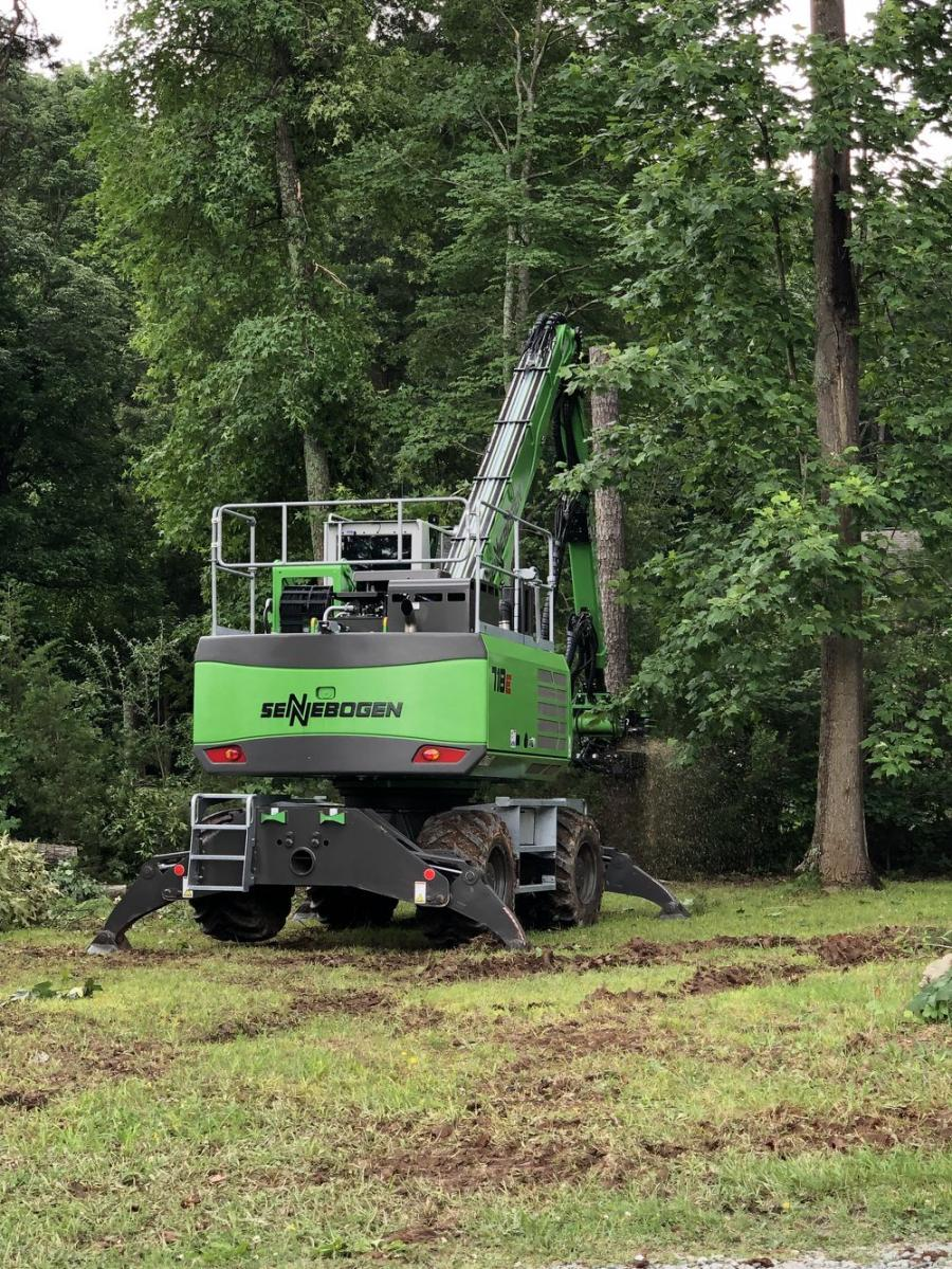 The 718 is practical for municipal projects; roadside maintenance; commercial work; right-of-way clearing; utility line clearance; storm work; and streams; slopes and embankment maintenance; and other jobs that require the removal of more than trees.