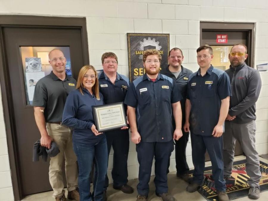 Butler Machinery Company received NDSC's Workplace Safety Merit Award.