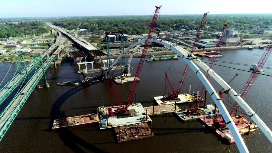 The I-74 Mississippi River Bridge project is part of an overall plan to improve the I-74 corridor from Moline, Ill., to Davenport, Iowa.