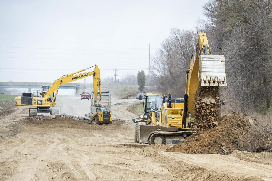 Work includes reconstructing the freeway and ramps, preventive maintenance on all bridges in the project area and making operational improvements to the entrance and exit ramps.
