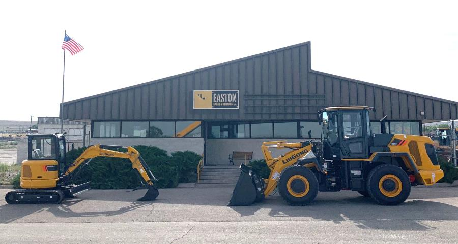 Easton Sales and Rental, Albuquerque, N.M. branch, was appointed as the LiuGong and Dressta equipment dealer for its market area.