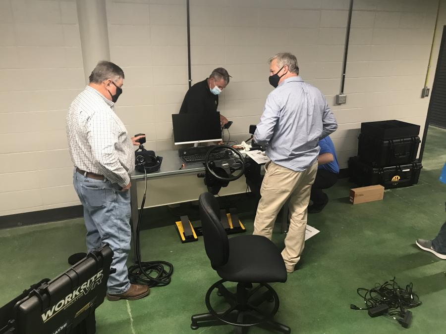 AGC committed $100,000 to buying equipment, including the simulator, and wrote the grant as part of the ongoing relationship with RC3.