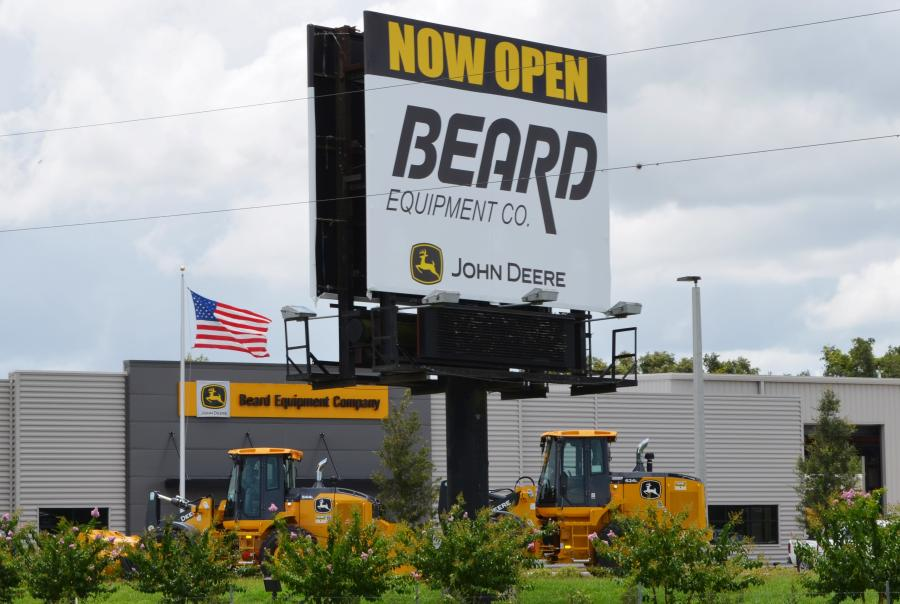 The big sign on Interstate 75 in Ocala tells customers the new branch is open for business.