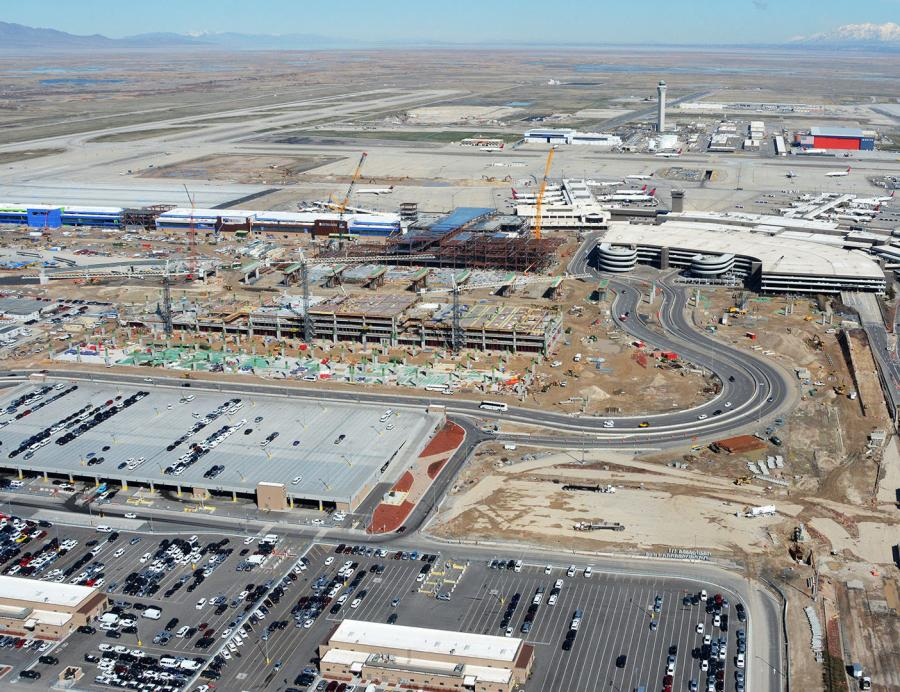 The Salt Lake City International Airport projects total $97 million and are part of the airport's Terminal Redevelopment Program.