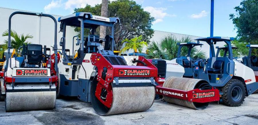 Durante Equipment rents, sells and supports the complete Dynapac portfolio in southern Florida to include Broward, Collier, Hendry, Lee and Palm Beach counties.