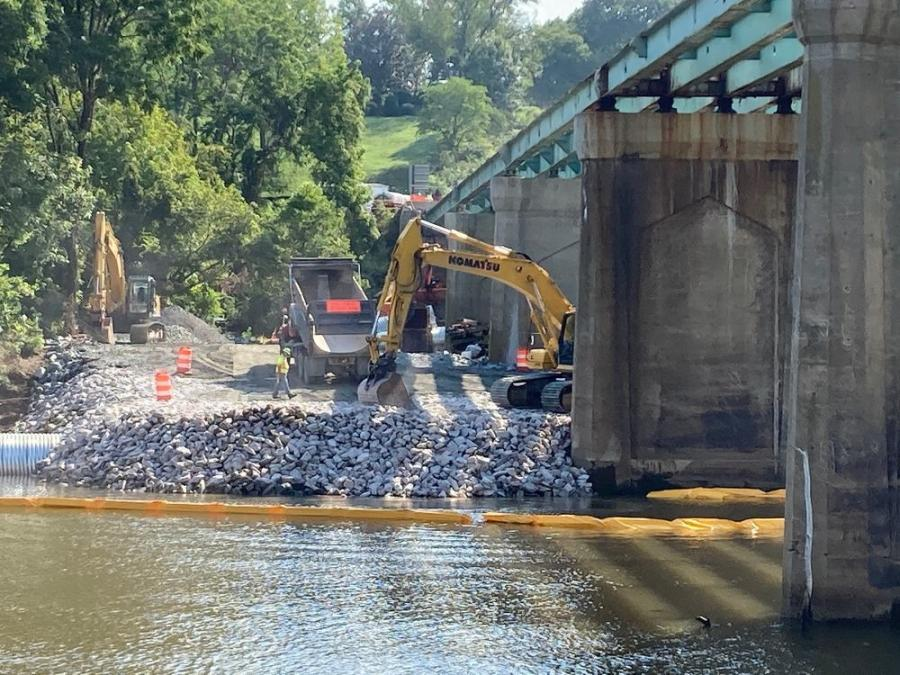The $17.9 million project began in May after The Commonwealth Transportation Board (CTB) awarded the contract to Joseph B. Fay Co. (an i+iconUSA Company), of Pittsburgh, Pa.
