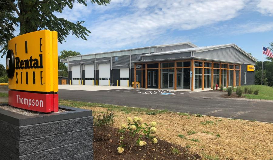 The new location, at 4545 Columbia Pike, Thompson's Station, TN 37179, is roughly 10,000 sq. ft. and is specifically designed for Thompson's Cat Rental Store operations and retail sales of small construction equipment, such as compact track loaders and mini excavators