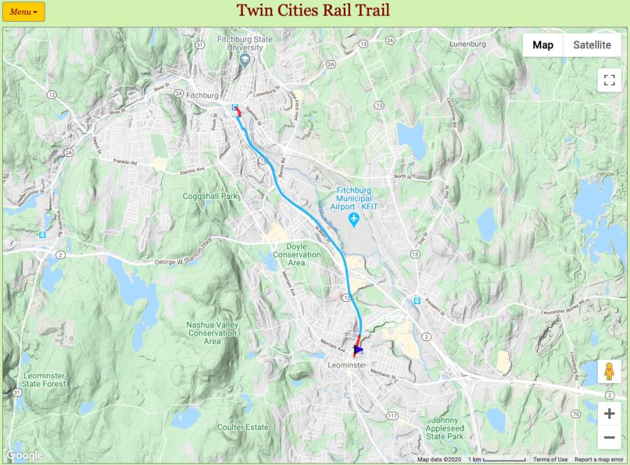 Brush and trees have been cleared to pave the way for Phase One of the Twin Cities Rail Trail, a 4.5-mile bike path that will connect the towns of Leominster and Fitchburg, Mass.