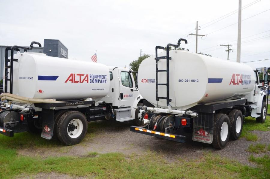 Curry Supply on-road water trucks are now available at Alta.