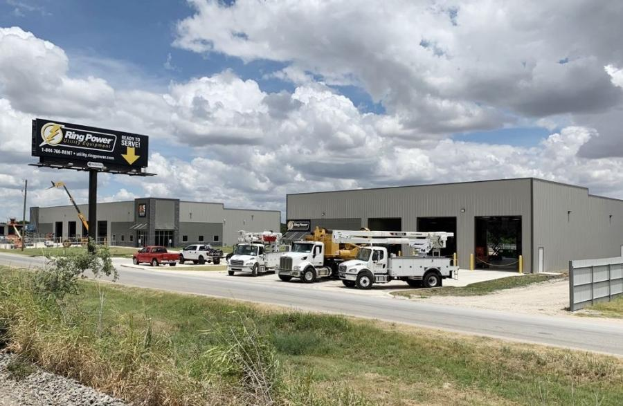 Ring Power Utility Equipment is located at 649 Northpoint Drive, Tempe, Texas.