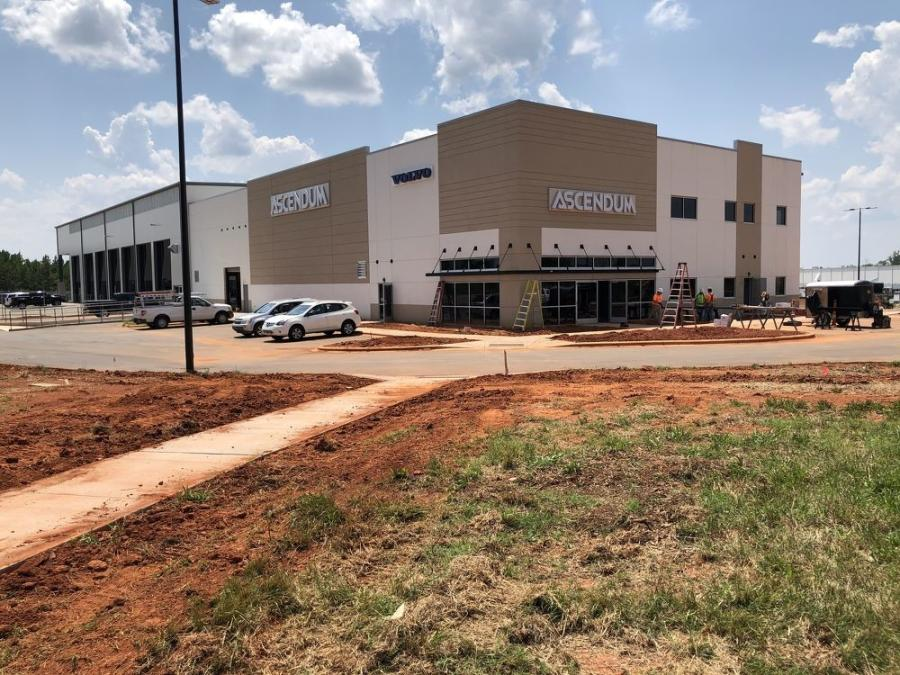 When finished in the fall, the new Charlotte branch will replace the current Ascendum dealership and service center on Reames Road.