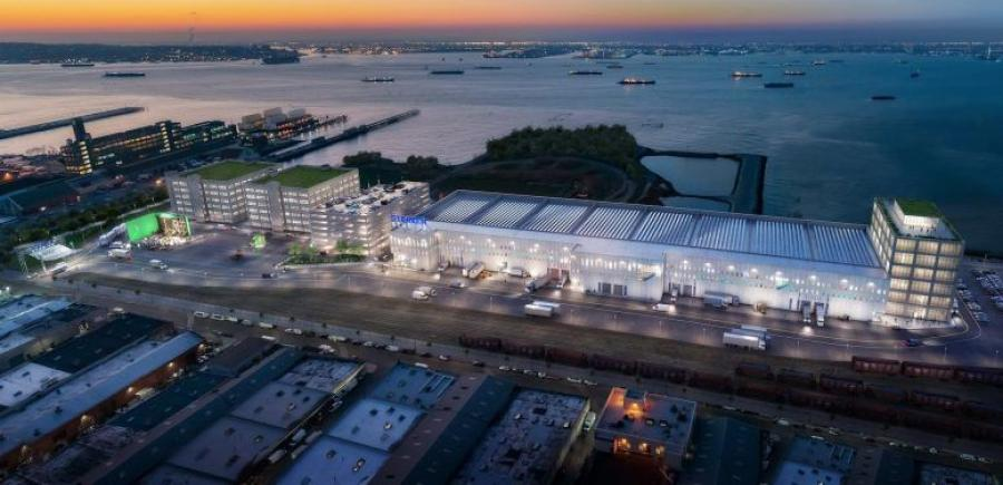 Steiner Studios has partnered with Dattner Architects to complete a 500,000-sq.-ft. productions studio at Bush Terminal in Sunset Park, Brooklyn. (Dattner Architects rendering)
