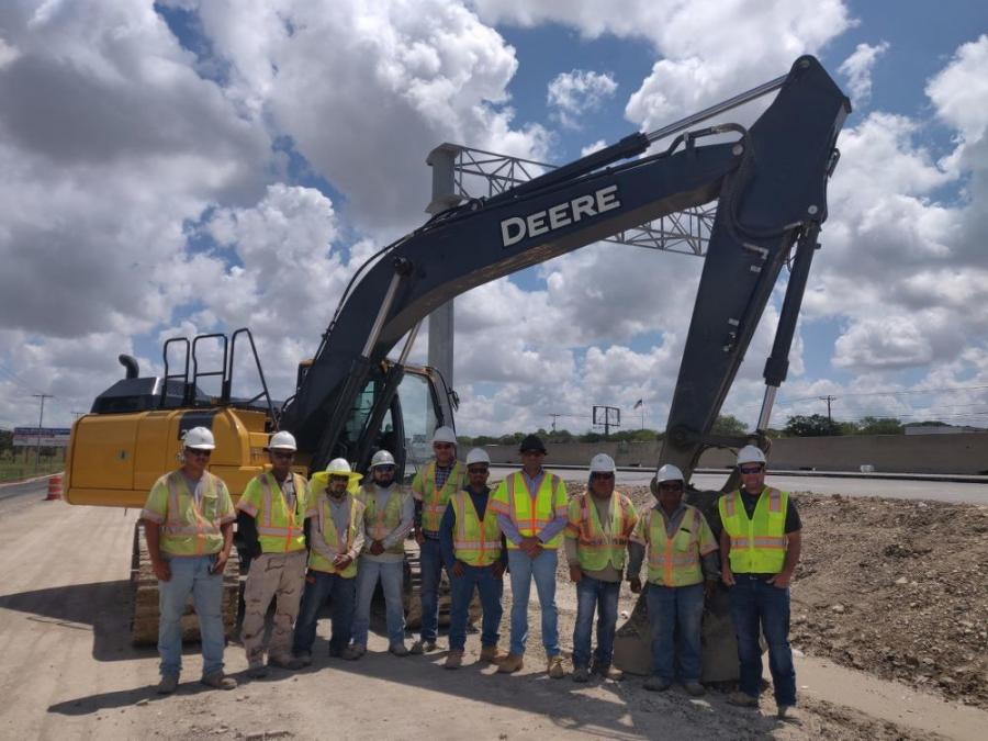 Members of the Bridges and Roads LLC team have completed approximately 50 percent of the project so far.