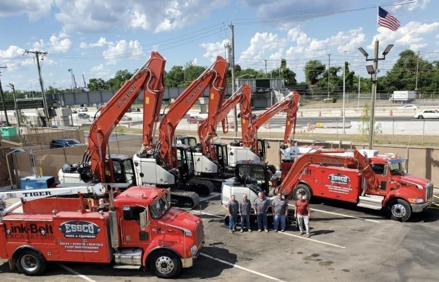 ESSCO Truck & Equipment is now the dealer of Link-Belt hydraulic excavators, material handlers and parts in New York City and New Jersey.