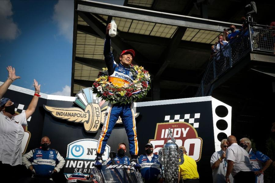 On Aug. 23, Takuma Sato (#30), brought the Rahal, Letterman and Lanigan Racing (RLL) team its second Indianapolis 500 win.