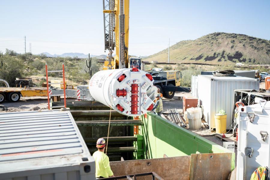 Owning the specialized equipment necessary for this type of tunneling enables Midwest Mole to meet its clients' deadlines and budgets.