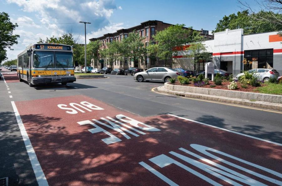 The MBTA is partnering with many cities and towns over the next year to advance projects that make regional roadways more reliable for tens of thousands of daily bus riders. (MBTA photo)