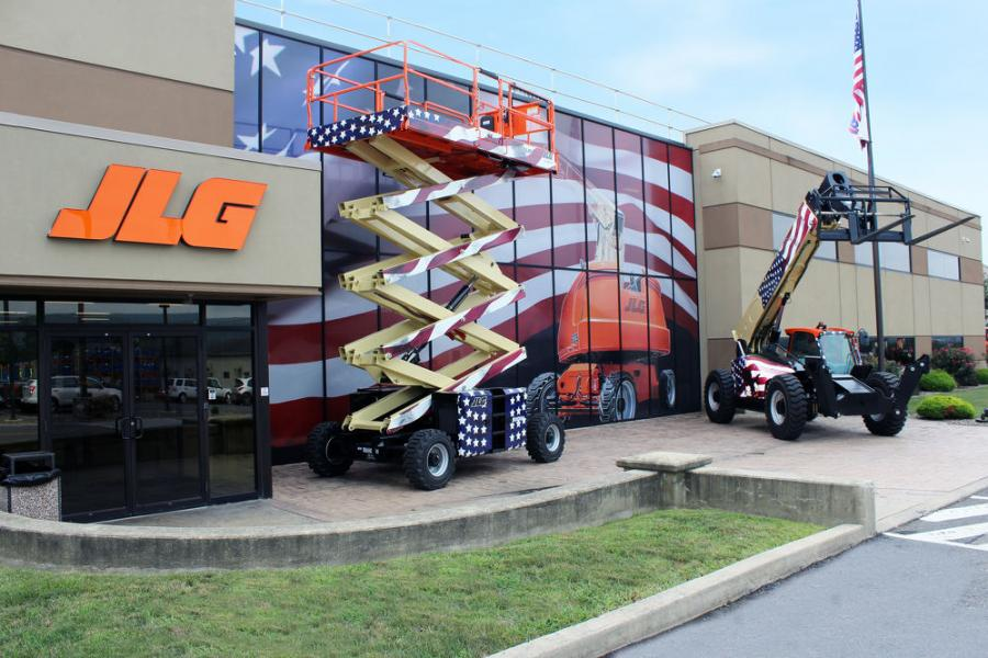 JLG Industries Inc. is supporting the Association of Equipment Manufacturers I Make America