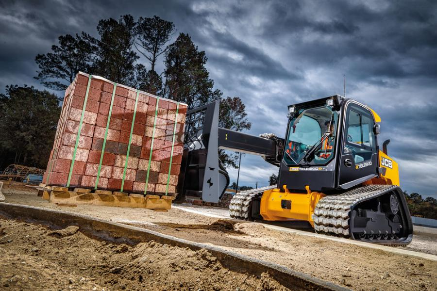 The JCB Teleskid is among a range of machines offered by JCB through the DLA contract. Teleskid's telescoping Powerboom allows it to lift higher, reach further and dig deeper, making it well suited a range of applications.
