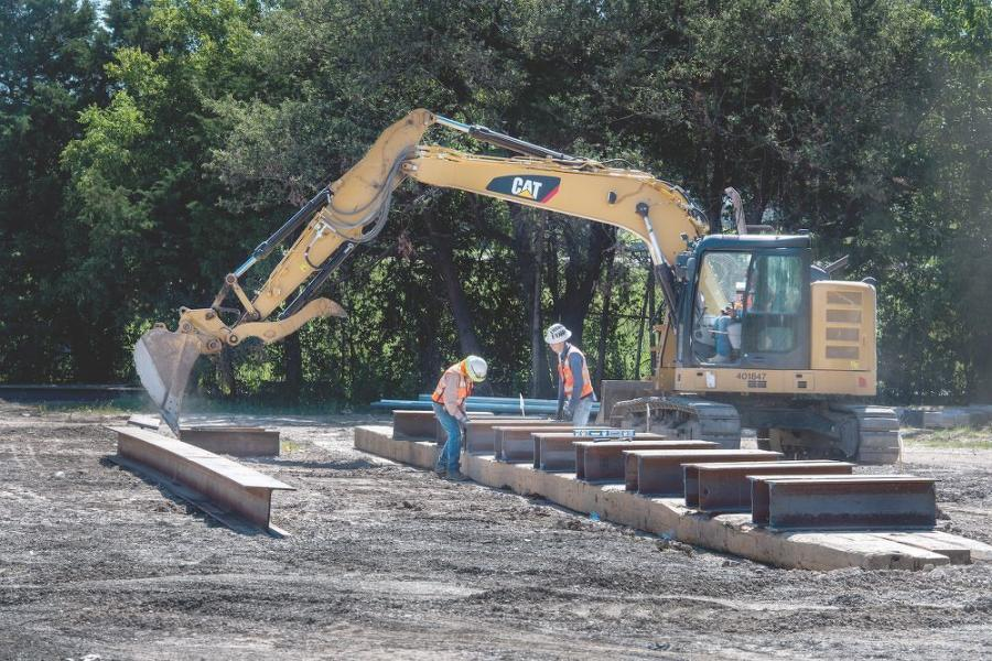 SEMA Construction is the general contractor working to replace the 50-year old Seagoville Road twin-bridges over I-635 in Dallas.