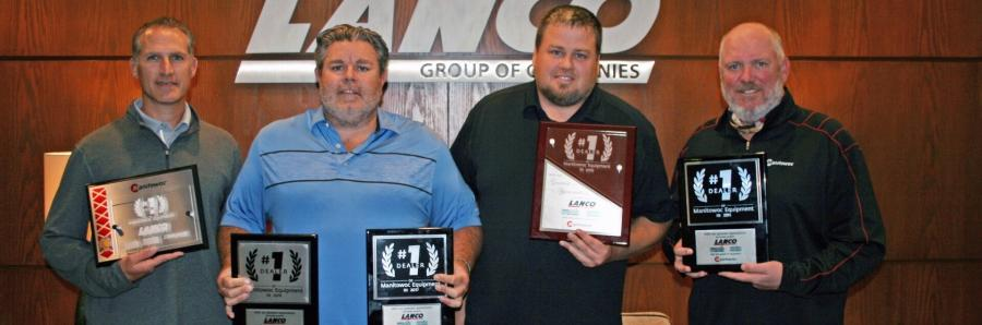 Lanco Group of Companies is a five-time consecutive winner of Manitowoc's Top Dealer Award.