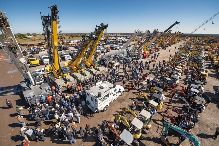 More than 11,300 bidders from 72 countries registered for the Sept. 29 to 30 auction, which was conducted entirely online due to COVID-19.