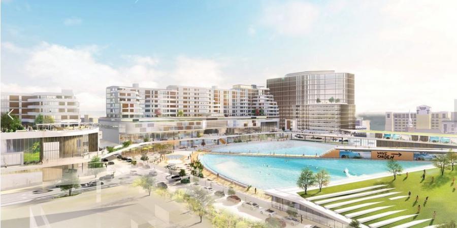 Surf + ViBe park. (Venture Realty Group rendering)