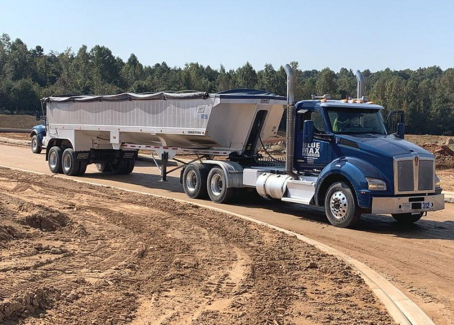 The PACCAR 12-speed transmission with the vocational calibrations is designed for applications up to 110,000 lbs. gross vehicle weight and is intended for Kenworth T880s that travel mainly on paved roads and occasionally operate off highway on maintained dirt or gravel roads.
