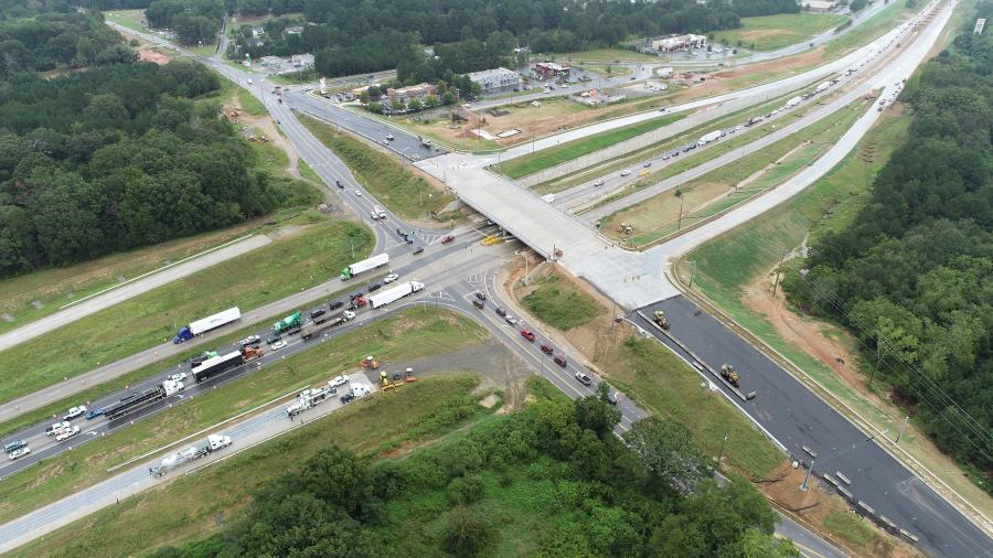 Construction crews from CMES Inc. are in the process of building a full diamond urban interchange providing access to and from SR 316 to the crossroad SR 81 in Barrow County.