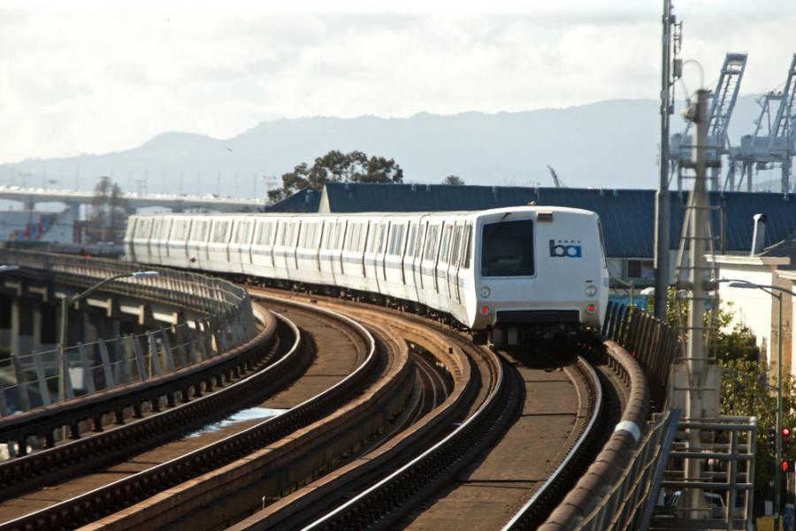 The project, with a total cost of $1.2 billion, will improve capacity on the existing BART heavy rail system between the city of Oakland and downtown San Francisco.