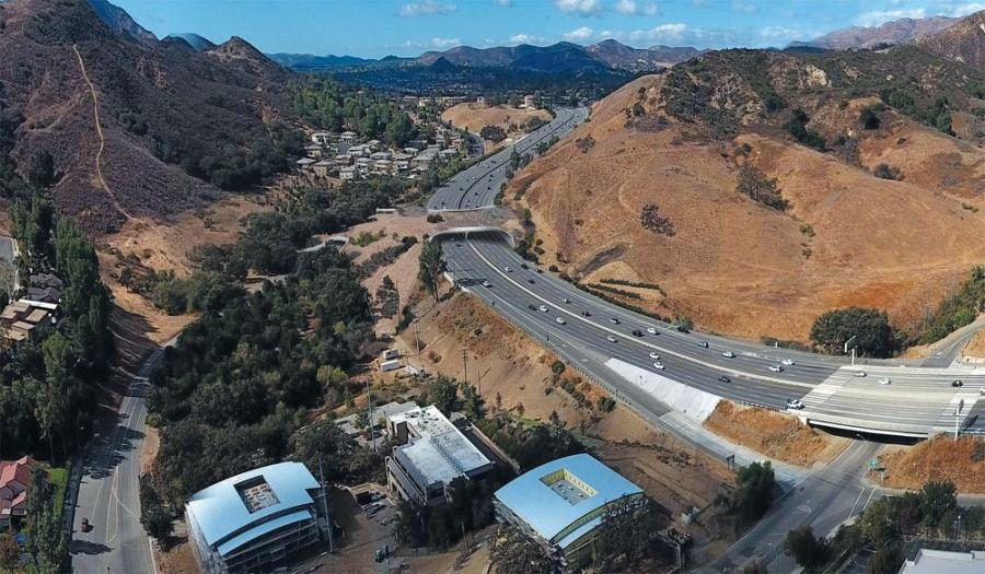 Currently in planning stages, the $88-million land bridge will consist of a 200-ft. long overpass across the 101 Freeway at Liberty Canyon.