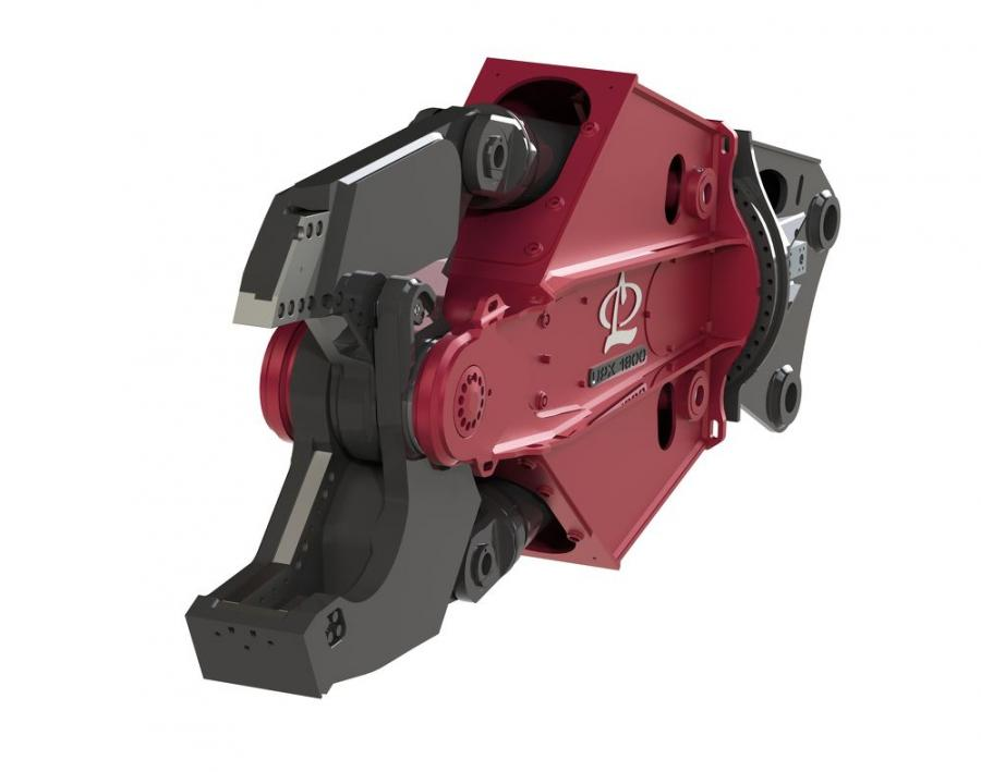 While smaller models in the UPX lineup already offer multiple jaw types, the new offering for the UPX 1800 adds versatility for demolition projects requiring larger processors.